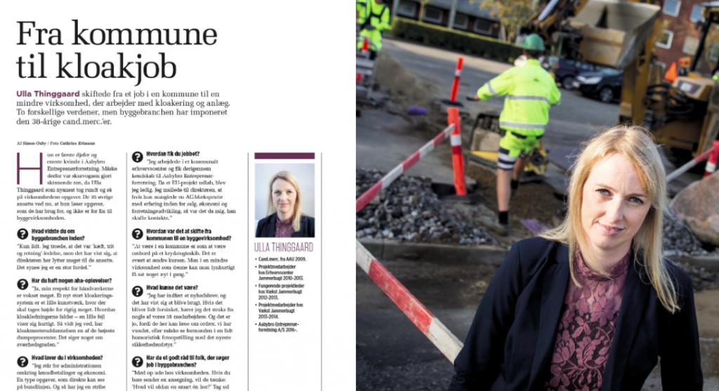Djøfbladet, artikel